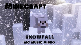 """Snowfall"" (feat. Laura Brehm) - Approaching Nirvana [Full MINECRAFT MUSIC Video]"