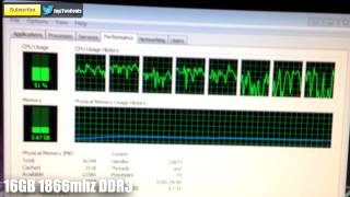 4GB vs 8GB vs 16GB System RAM - Single vs Dual Channel
