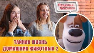 Реакция девушек - Тайная жизнь домашних животных 2 — Русский трейлер 2019