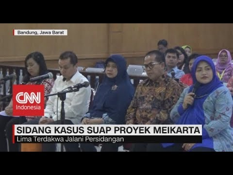 Nama Ridwan Kamil Disebut Dalam Sidang Kasus Suap Meikarta