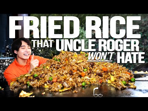 EGG FRIED RICE THAT UNCLE ROGER WON'T HATE (HOPEFULLY)