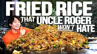 EGG FRIED RICE THAT UNCLE ROGER WON'T HATE (HOPEFULLY) | SAM THE COOKING GUY 4K