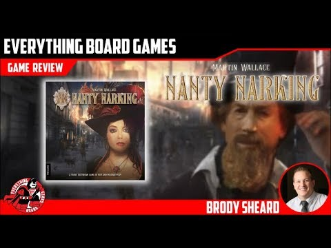 Everything Board Games - Nanty Narking Preview