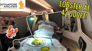 Singapore Airlines A350: BUSINESS CLASS ON THE WORLD'S BEST AIRLINE!