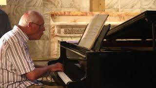 Michael Finnissy at the Fitzrovia Chapel, 7th July 2018