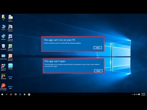 "How to Fix ""This App Can't Run on your PC"" in Windows 10/8.1 (Easy)"