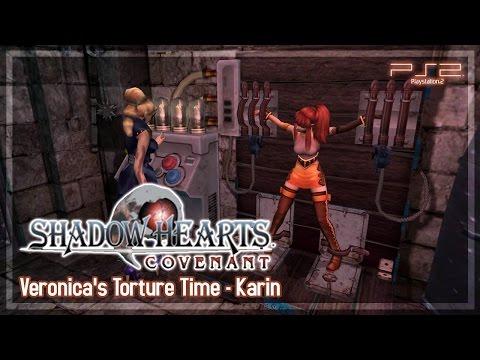 Shadow Hearts Covenant 【PS2】 Veronica's Torture Time - All Karin's Replies (#28)