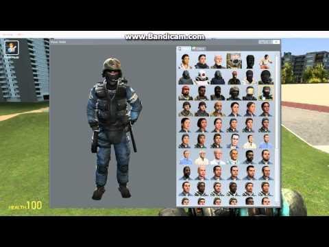 How to change a player model in Gmod 13 - смотреть онлайн на