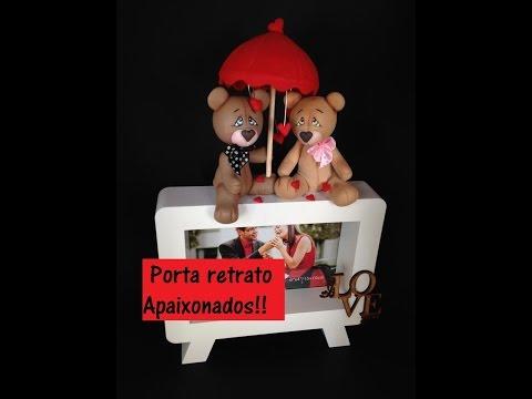 Porta retrato ursinhos