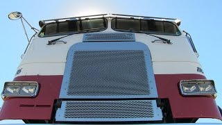Norris Transportation's Classic Freightliner Cab-Over At TFK 2013