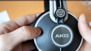 AKG K 272 HD - Home Headphones   Unboxing [ITA]