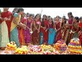 Telangana Bathukamma Special | Bathukamma songs Dance performance by hyderabadies #SanvisZone