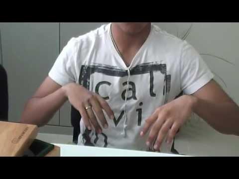 Prótesis para los dedos indice, medio y anular, usando un adhesivo, No. 55
