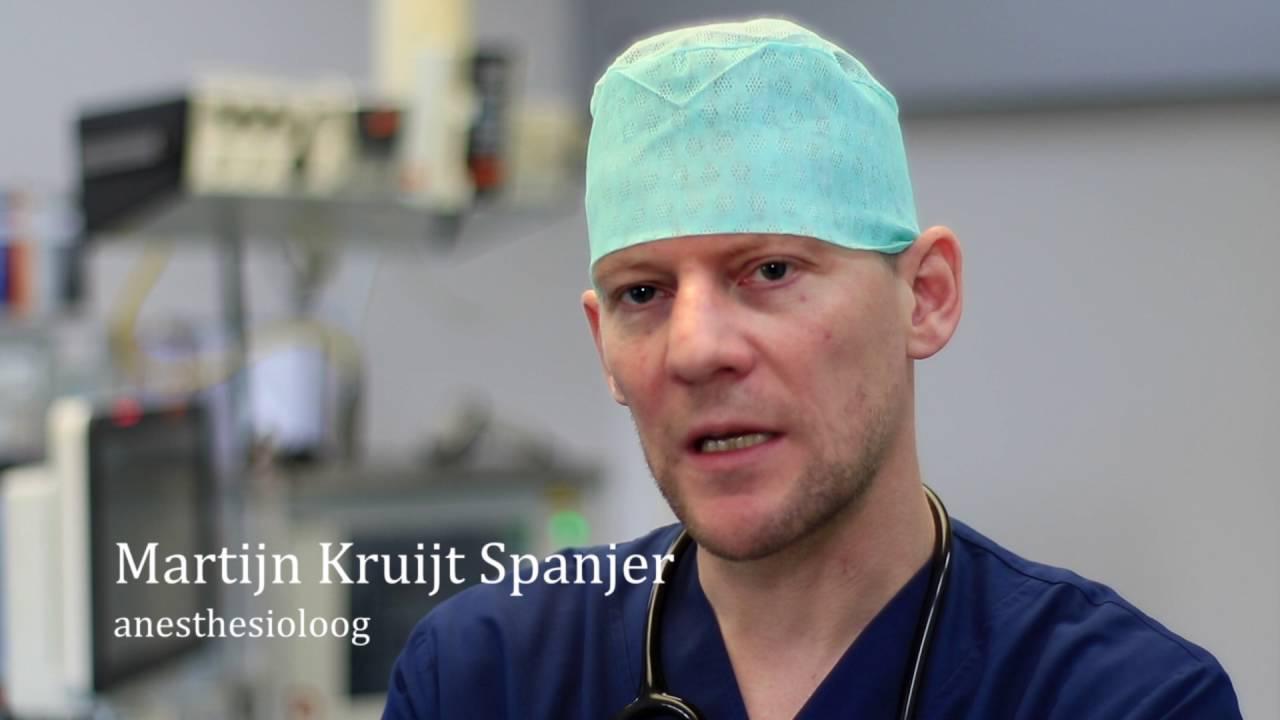 Route van de patiënt op de operatieafdeling in vogelvlucht