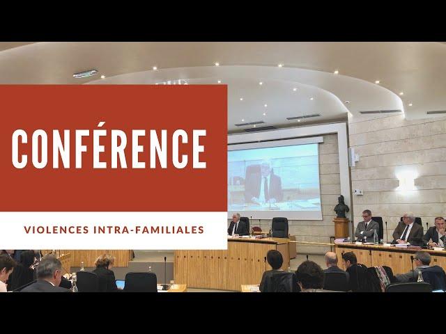 Conférence sur les violences intra-familiales : prévenir et agir