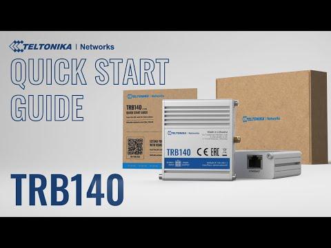 4G Cellular Gateway TRB140