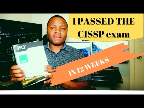 HOW I PASSED THE CISSP IN 12 WEEKS | And Tips for you ...