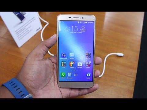 Asus Zenfone 3 Laser India Hands on, Features, Camera (ZC551KL)