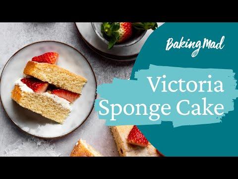 Video How to make a Victoria sponge cake