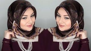 أجدد لفات الحجاب التركية - Turkish Hijab Style 2019