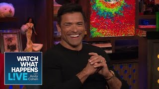 Mark Consuelos And Kelly Ripa's Pre-Marriage Breakup | WWHL