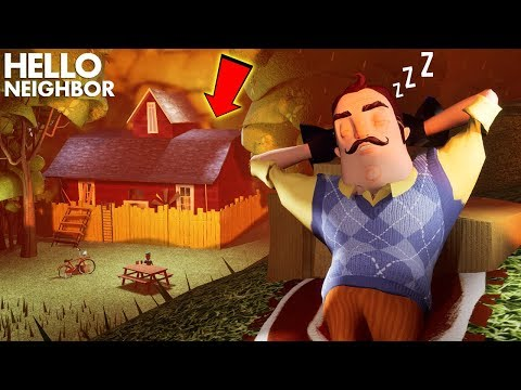 The Neighbor TRIES TO GET HIS REVENGE!!! | Hello Neighbor Gameplay