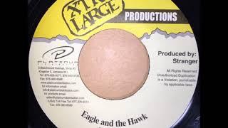 BOUNTI KILLA - EAGLE AND THE HAWK - REGGAE - 7inch vinyl record