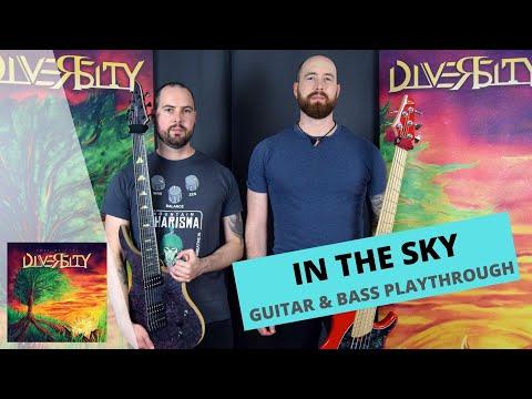 Diversity - Diversity CZ - IN THE SKY (GUITAR & BASS PLAYTHROUGH)