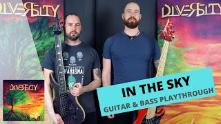 Video Diversity CZ - IN THE SKY (GUITAR & BASS PLAYTHROUGH)