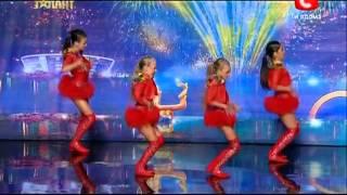 """Украина мае талант 5 - коллектив """"Империя"""" 9.03.2013 Одесса"""