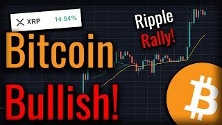 Big Bullish Signs For Bitcoin As XRP Sees HUGE Rally!