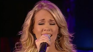 Carrie Underwood - For Once in My Life - Performing With All The Stars From Oprah