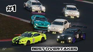 GT Sport - Best Overtakes #1