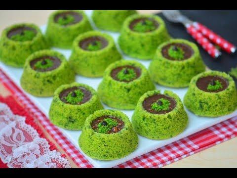 Çikolatalı Fındıklı Yemyeşil Ispanaklı Kek Nasıl Yapılır ( Herkesin çok beğendiği nefis bir tarif)