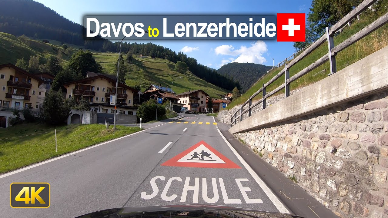 Driving from Davos to Lenzerheide – Scenic Drive Switzerland!
