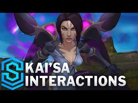 凱莎的各種特殊互動