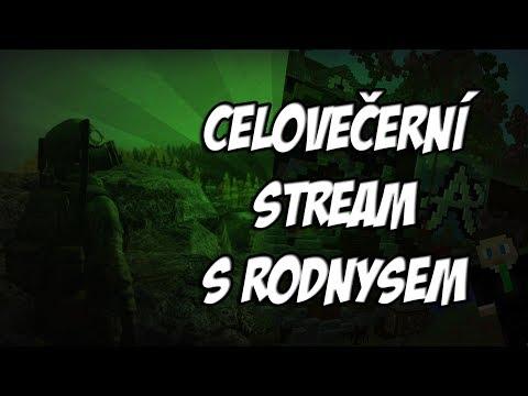Páteční stream s Rodnysem | 16.3