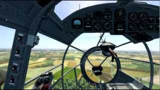 CloD He-111 Tutorial Part4 Return and Landing (english).mp4
