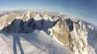 Aiguille Verte Fast and Light