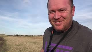 First FPV drone field flight test & CRASH