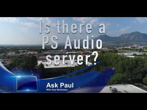 Is there a PS Audio server?