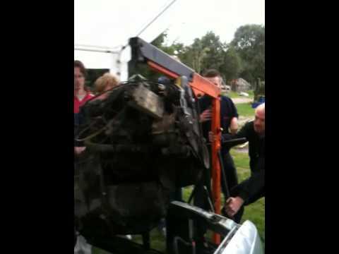 Autosleutelcursus Holthees 2011 week 2- demontage Opel Kadett motor