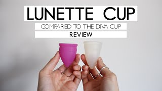 REVIEW | Lunette Cup (Compared to the Diva Cup)