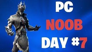 PRACTICE TOURNAMENT FORTNITE PC NOOB DAY #7