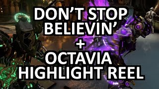 Warframe Mandachord: Don't Stop Believin' in its entirety + Octavia Highlight Reel, Glyph codes