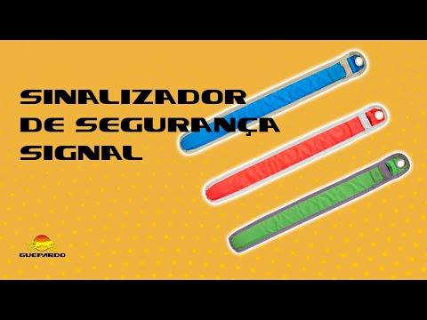 Vídeo - Sinalizador de Segurança Guepardo Signal