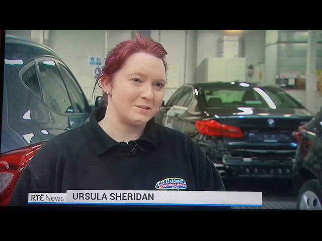 Ursula Sheridan  - Vehicle Body Repair Apprentice