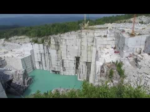 Granite quarry Vermont