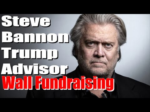 Steve Bannon Former Trump advisor, three others charged with wall fundraising campaign