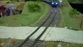 preview picture of video 'Międzynarodowa Wystawa Makiet Kolejowych - Rybnik 2010'